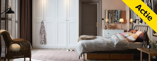 Ikeabedden Stunning Rugsteun Bed Ikea Lovely The King Size