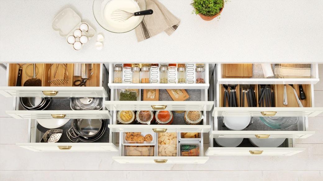 Slimme ideeën om de keuken op te ruimen