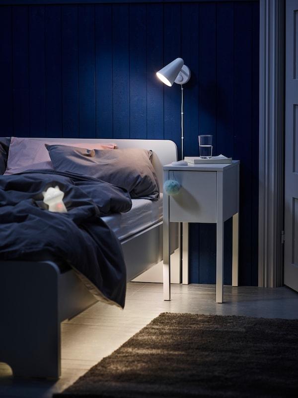 Slimme verlichting - slaapkamer - babykamer - LURIGA led-nachtlampje - IKEA wooninspiratie