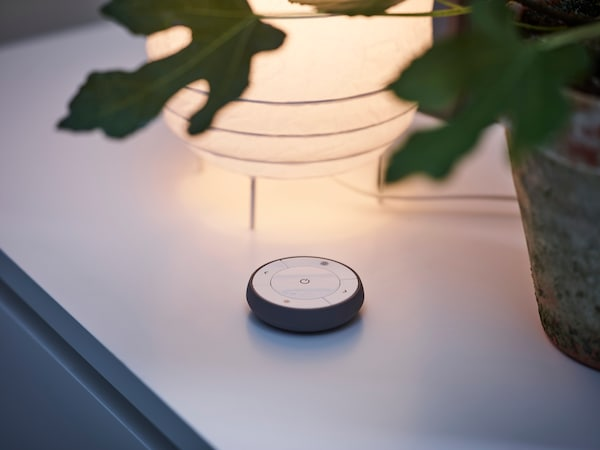 Slimme verlichting - slaapkamer - TRADFRI dimset - IKEA wooninspiratie