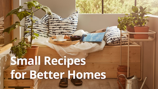 Small Recipes for Better Homes