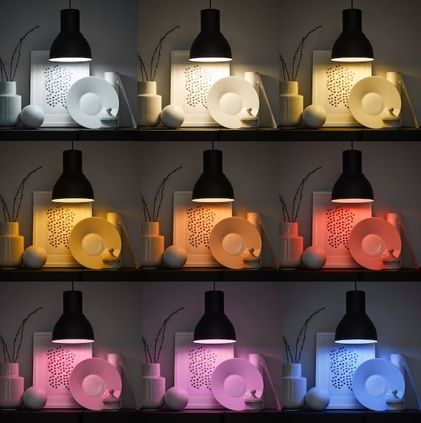 Smart lighting with different colors