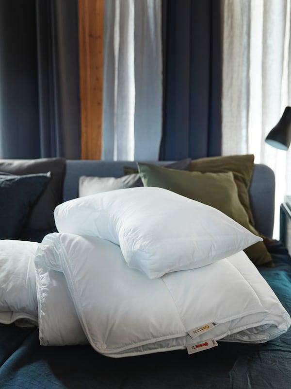 SMÅSPORRE duvet made from polyester