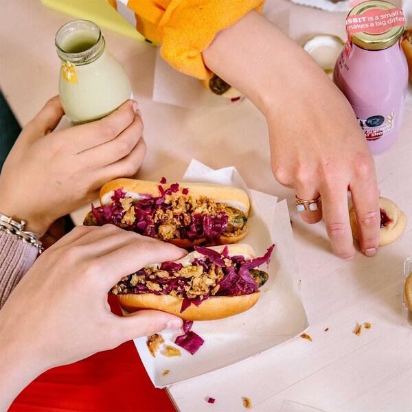 snacking salé au bistro IKEA