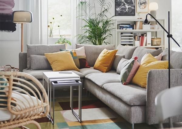 SÖDERHAMN sofa grey