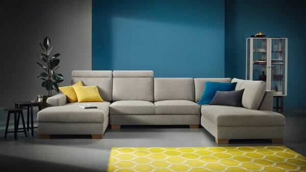 SÖRVALLEN Sofa im Wohnzimmer