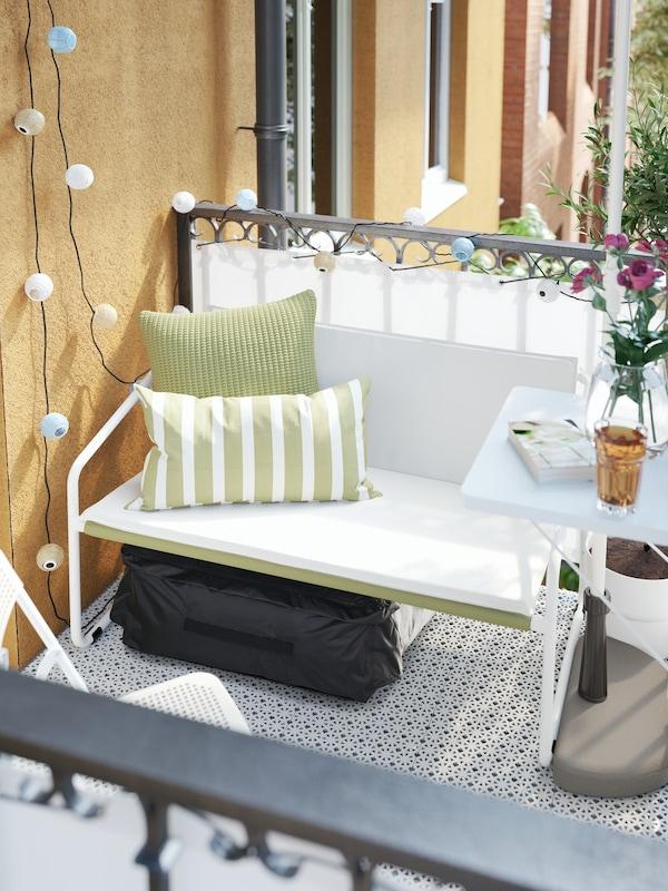 sofá de exterior para balcones y terrazas
