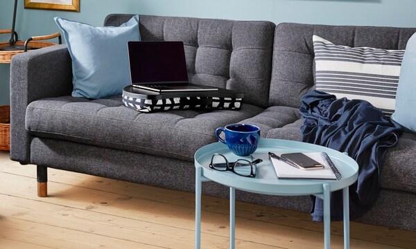 Sofa LANDSKRONA szara