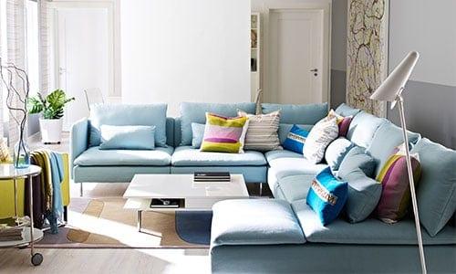 Sofa yang sesuai dengan gaya hidup anda - SÖDERHAMN planner