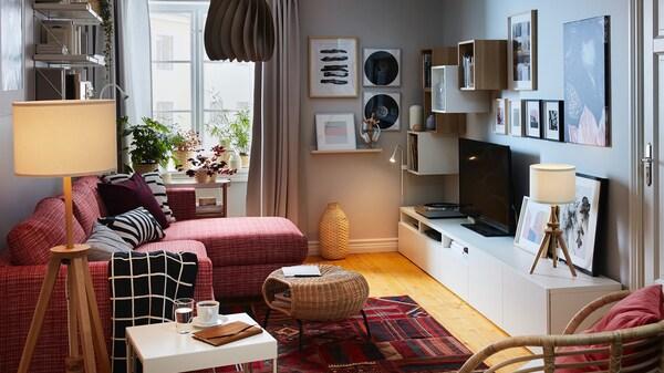 Mobili Per Salotto Ikea.Soggiorno Salotto Ikea