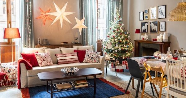 Cuscini Natalizi Per Divano.Natale Ikea