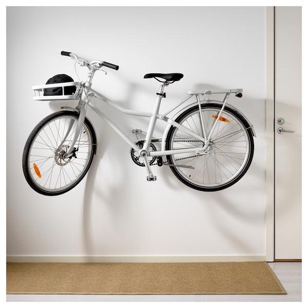 Soporte de bici para pared según el material del que esté hecha