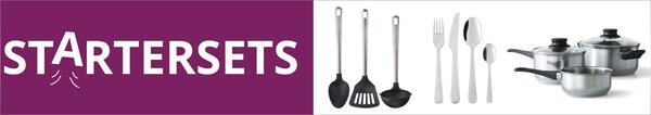 Startersets für deine Studentenküche