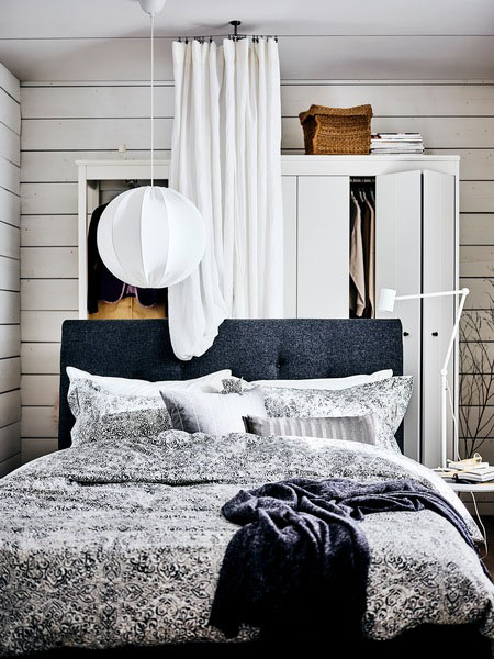Step-by-step: a refreshing bedroom makeover.