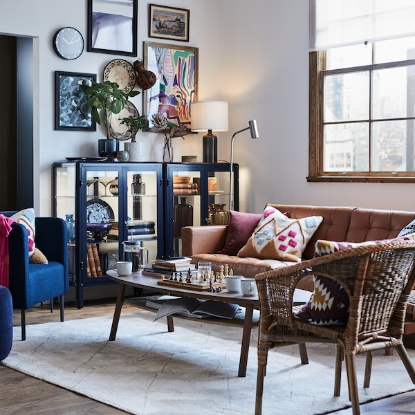 Step into a home that's all about working and living in a single open plan space.