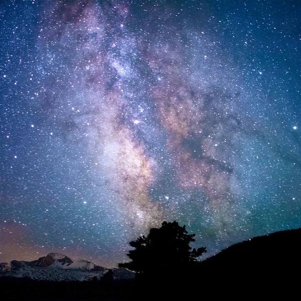 Sternenhimmel in einer Sommernacht