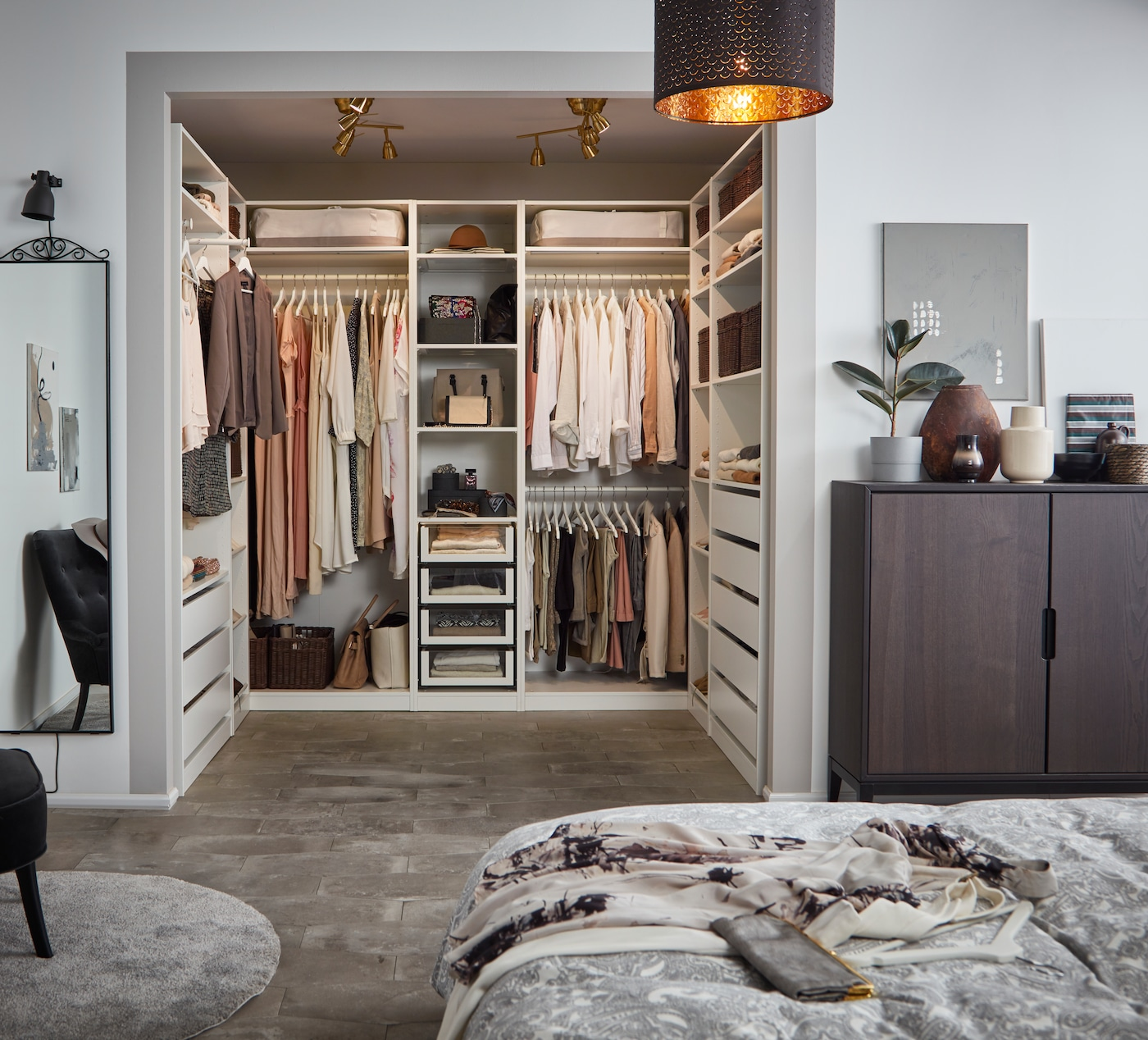 Storage-clothing-bedroom-IKEA living inspiration