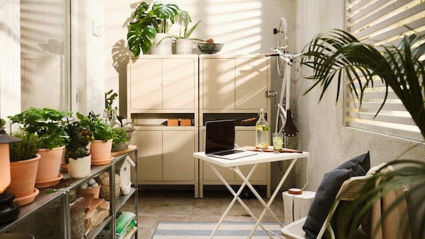 Storage tips on how to maximise an outdoor area.