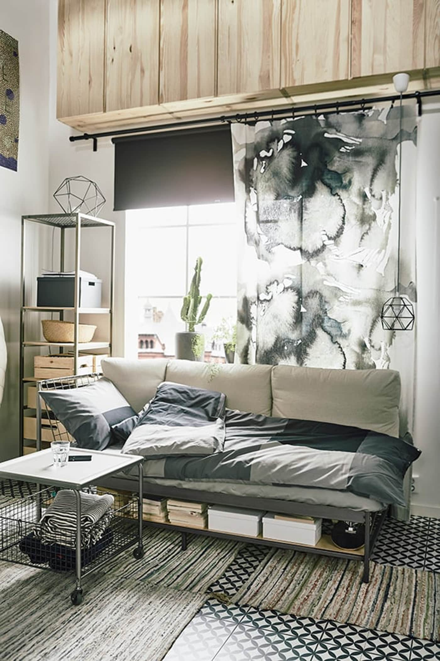 Studio apartment — living small — interior design tips — IKEA interior inspiration