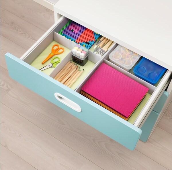 STUVA commode avec façade de tiroirs FRITIS