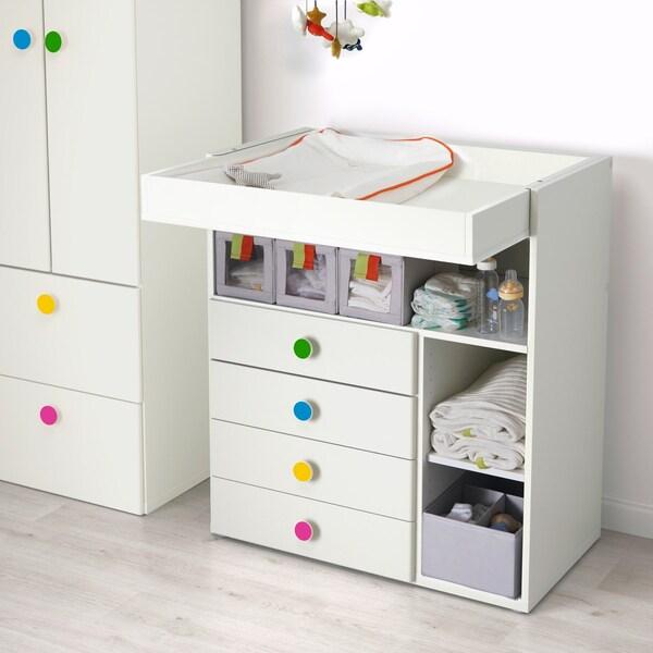 STUVA / FÖLJA Wickeltisch mit 4 Schubladen