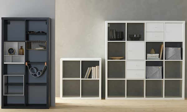 Stylish, simple storage shelving that does a lot - KALLAX planner