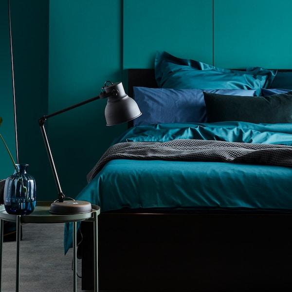 Sugestões para utilizar cores no seu quarto.