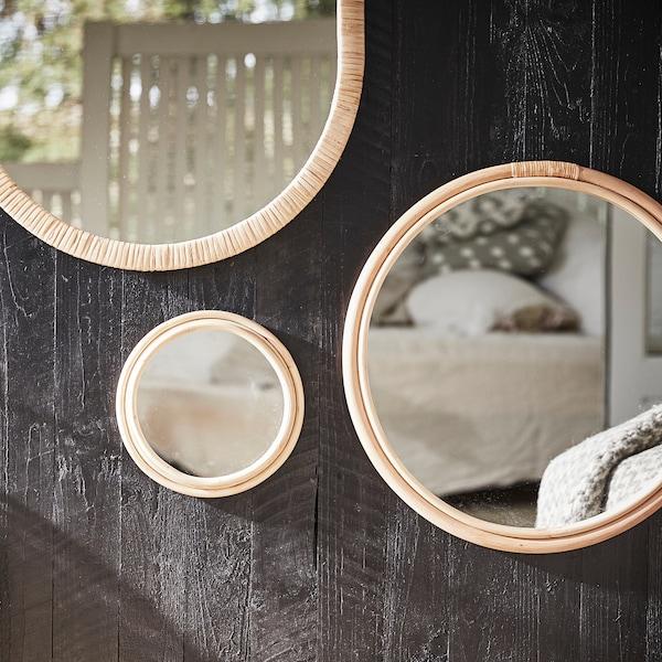 Suggerimenti per decorare con gli specchi.