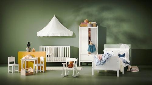 Familia de mobilier pentru camera copiilor SUNDVIK