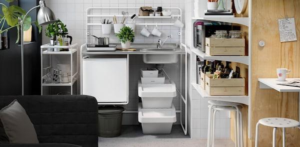 SUNNERSTA mini kitchen.