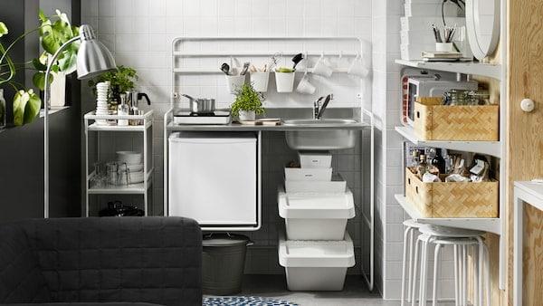 SUNNERSTA unit kitchen.