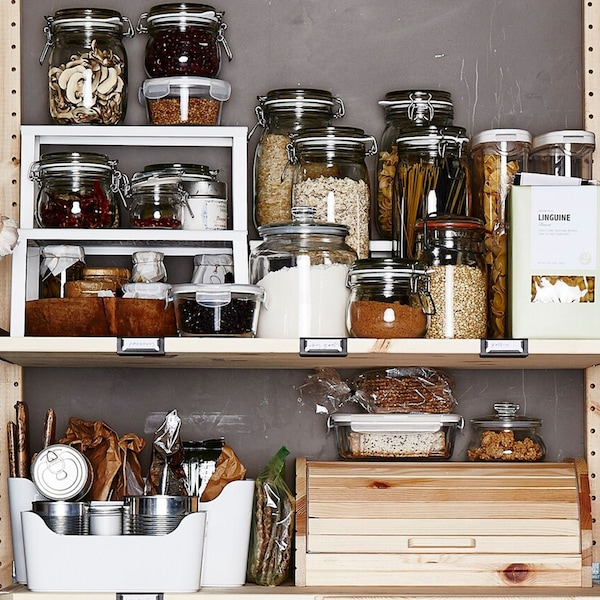 Super smart ways to store your food.