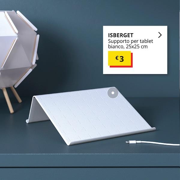 supporto per tablet bianco - IKEA