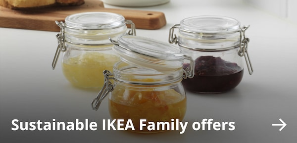 Sustainable IKEA Family offers.