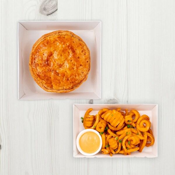 Swedish beef pie Combo 1