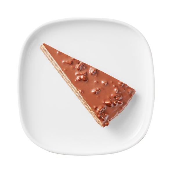 Swedish Crunchy Almond Chocolate Cake