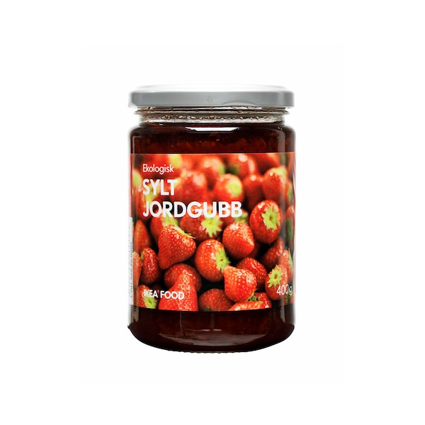 SYLT JORDGUBB Strawberry jam, organic, 400g
