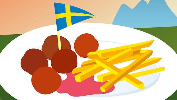 Symbol detského menu v Reštaurácii IKEA.