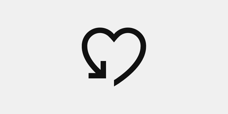 Symbol för retur
