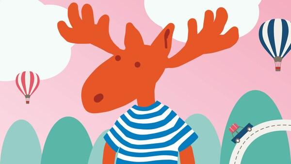 Symbol Losíka, ktorý predstavuje program IKEA Family pre deti.