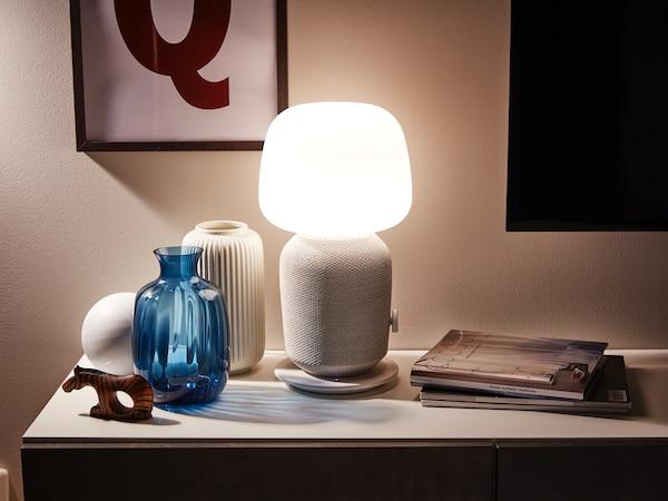 SYMFONISK lamp speaker sonos ikea