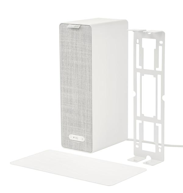 SYMFONISK Wandhalterung in weiß inkl. Silikonmatte