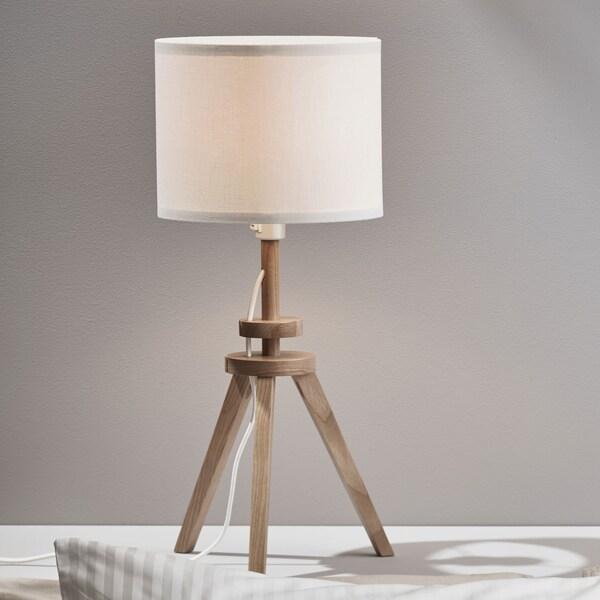 Table lamp, ash, white