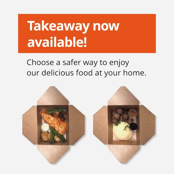 Takeaway now available!