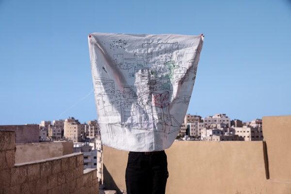 Tania legte einen besonderen Fokus auf die Dächer von Amman.