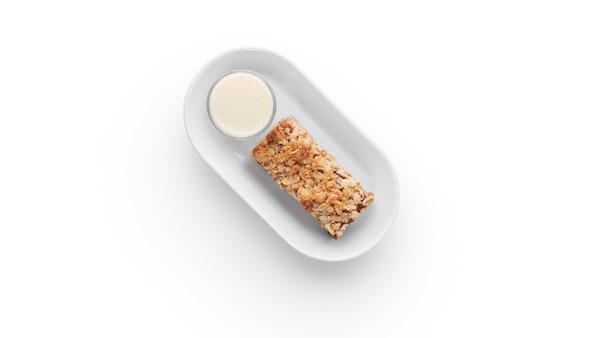 Tarte aux pommes suédoise Avec sauce à la vanille.