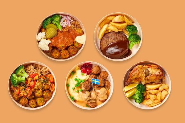 テイクアウトはじめました。イケアレストランの味をご家庭で 大人気メニュー、スウェーデン ミートボールBOXも登場!