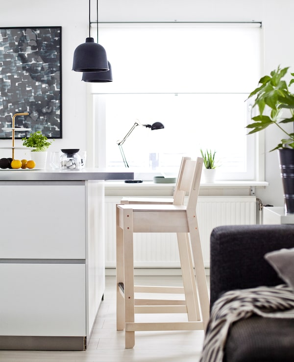 offene wohnr ume gestalten mit stil ikea. Black Bedroom Furniture Sets. Home Design Ideas
