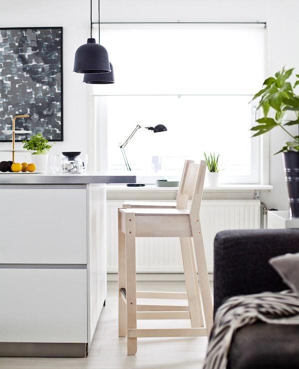 offene wohnr ume gestalten mit stil ikea. Black Bedroom Furniture Sets. Home Design Ideas
