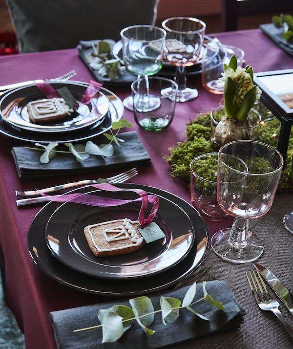 Tendencias de decoración mesa navideña IKEA